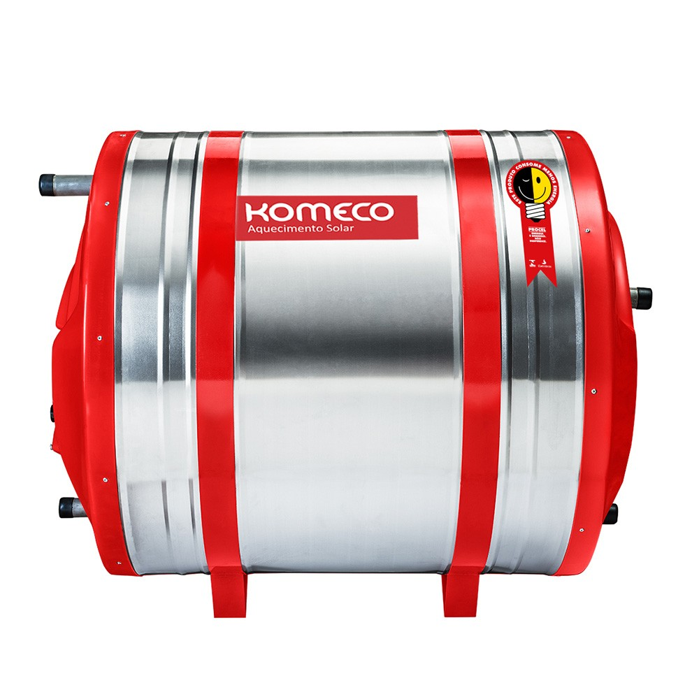 Reservatório Térmico (Boiler) Komeco 400 Litros Inox 304 Baixa Pressão