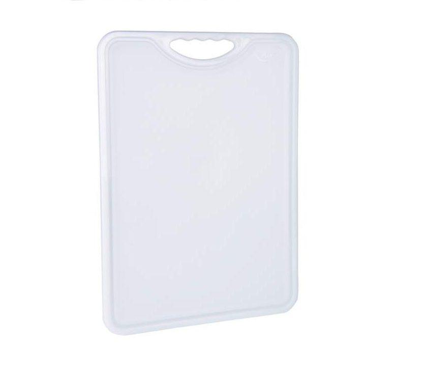 Tábua Plástica Para Corte Antimicrobiana Branca Alves Plastic 30x40