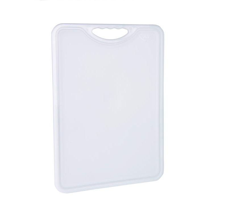 Tábua Plástica Para Corte Antimicrobiana Branca Alves Plastic 35x50