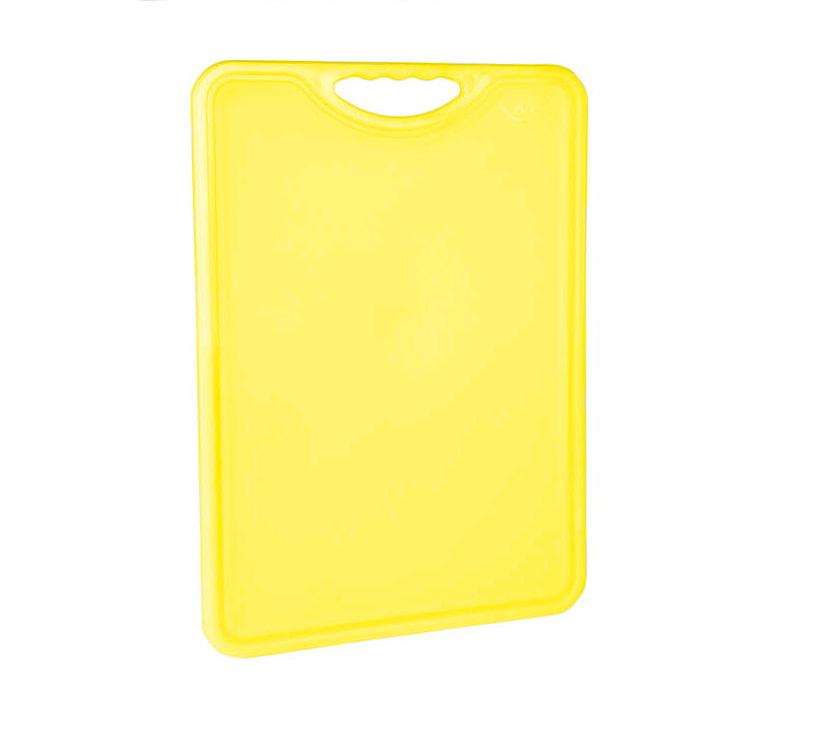 Tábua Plástica Para Corte Antimicrobiana Amarela Alves Plastic 30x40