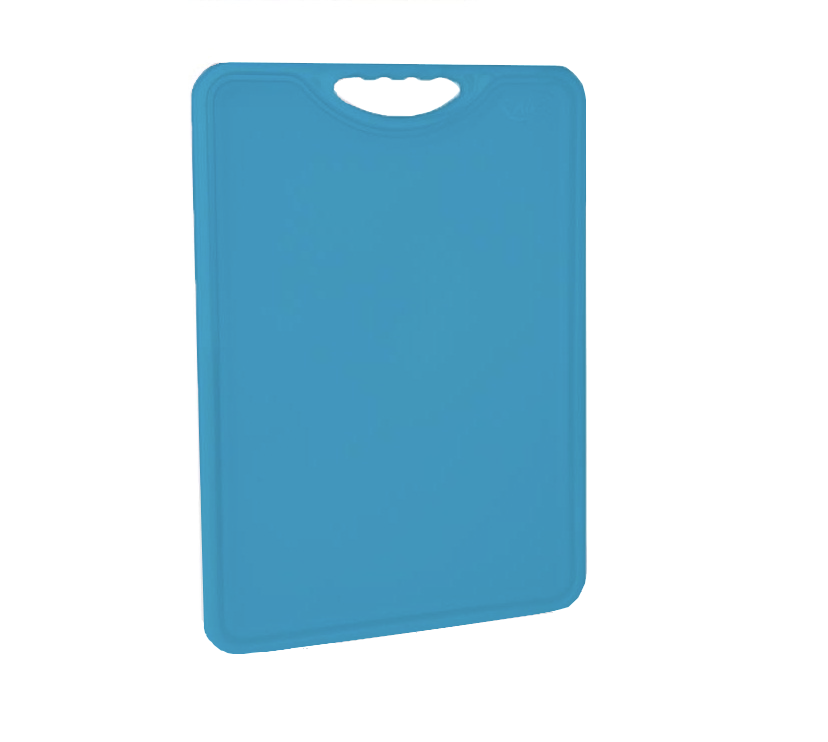 Tábua Plástica Para Corte Antimicrobiana Azul Alves Plastic 35x50