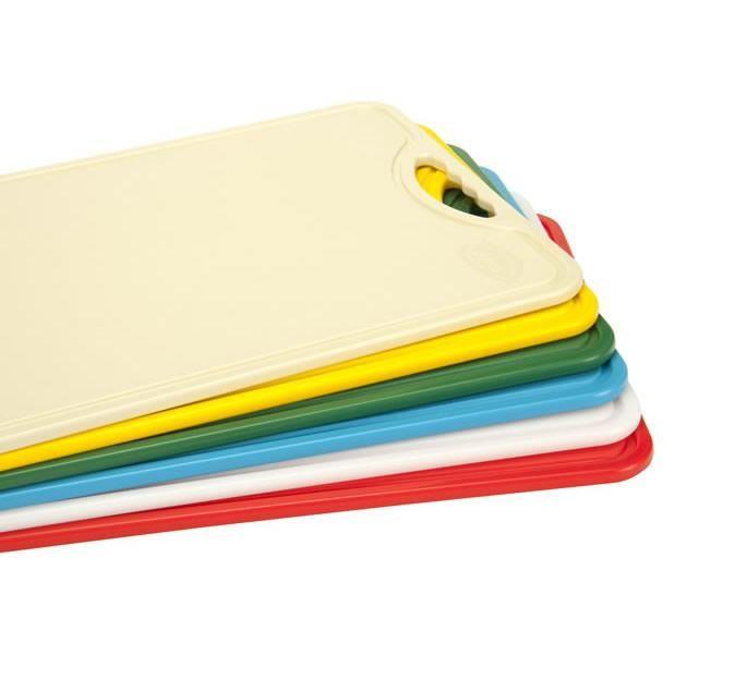 Tábua Plástica Para Corte Antimicrobiana Bege Alves Plastic 30x40