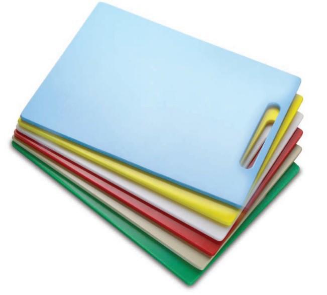 Tábua Plástica Para Corte Com Pegador Bege 40x30x01cm SOLRAC