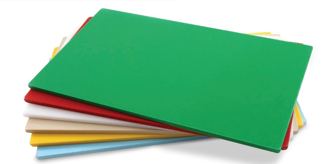 Tábua Plástica Para Corte Liso Branco 100x50x0,8cm SOLRAC