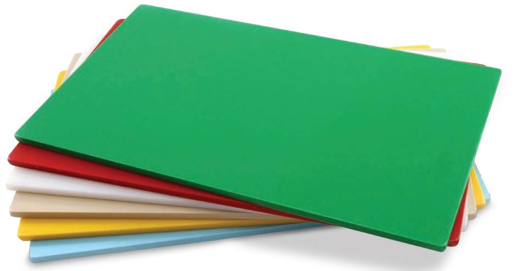 Tábua Plástica Para Corte Liso Vermelho 40x25x01cm SOLRAC