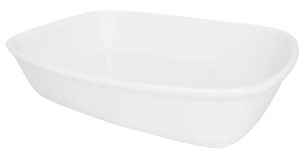 Travessa Refratária Pequena Branco 22cm Bake Oxford