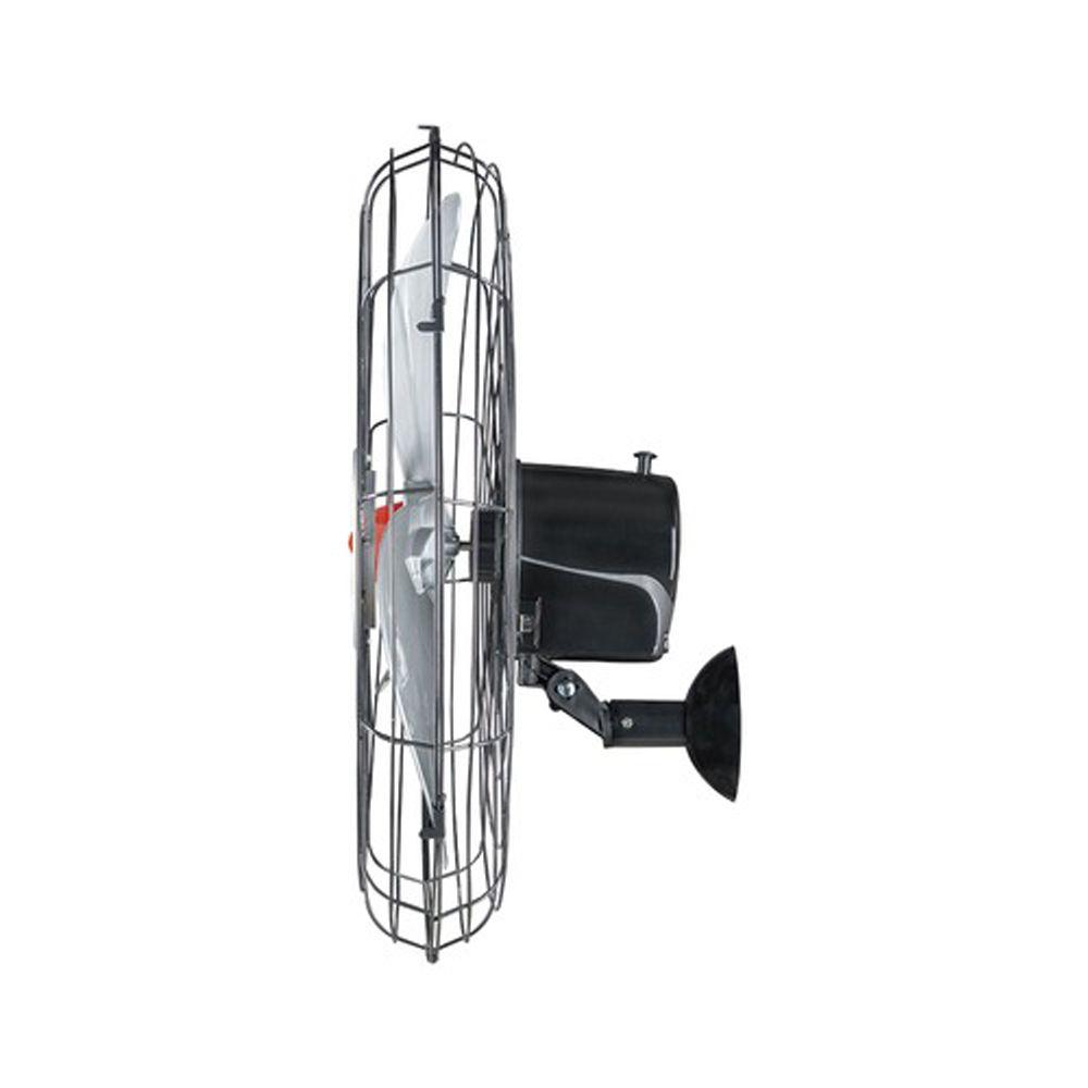 Ventilador de Parede Ventisol Power 70 Oscilante Preto 110/220V Bivolt