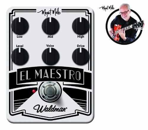 Pedal El Maestro - Waldman - Mm-6fx - Mozart Mello