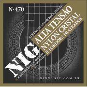 Encordoamento / Cordas Violao Nylon Nig Tensão Alta N-470 Bolinha