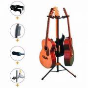 Suporte Triplo Hercules - Violão , Guitarra , Baixo