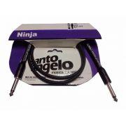 Cabo Para Guitarra Baixo P10 Santo Angelo Ninja 0.91