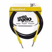 Cabo Santo Angelo Reto Standart Samurai 3.05 Cm P10 Guitarra Baixo Violão