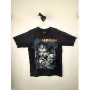 Camiseta Walking Dead Preta