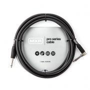 Cabo p/ instrumentos Mxr Dunlop Angulado Pro Series 3 metros 10' Pro Plug
