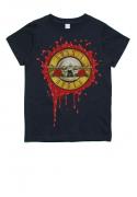 Camiseta Infantil Banda De Rock Guns N Roses