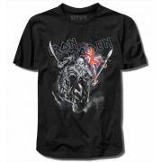 Camiseta Iron Maiden England Preta