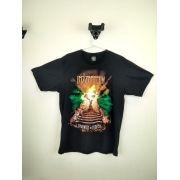 Camiseta Led Zepellin Starway To Heaven Preta