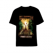 Camiseta Led Zeppelin Starway To Heaven Preta