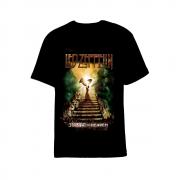 Camiseta Led Zeppelin Starway To Heaven Preta