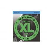 Corda / Encordoamento Baixo D'Addarío 040 04 Cordas Escala Longa - EXL220
