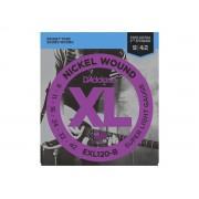 Corda / Encordoamento Guitarra 009 D'Addario EXl120-B 09-42