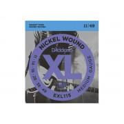 Corda / Encordoamento Guitarra 011 D'Addario  EXL115-B 11-49
