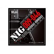 Corda Híbrida Nig Guitarra 009-046 - NH-66