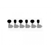 kit cabeça para tarraxa hipshot 6-6B1BBB-B (redonda) black