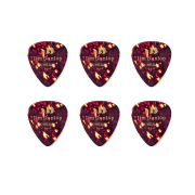 Palheta Jim Dunlop Tortoise Shell Classics X-Heavy 1,20 mm kit com 6