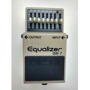 Pedal Equalizer GE-7 Boss Usado