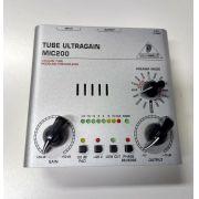 Pré-Amplificador Behringer Mic200 Tube Ultragain USADO