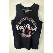 Regata Masculina Deep Purple Preta