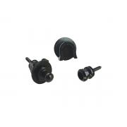 strap lock p/ Guitarra e Baixo Schaller security locks black Preto