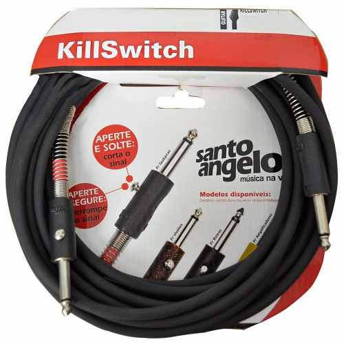 Cabo P10 P/ Guitarra Killswitch 10ft 3.05 Mts - Santo Angelo