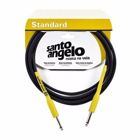 Cabo Santo Angelo Standart Samurai Reto 6.10 Cm P10 Guitarra Baixo Violão