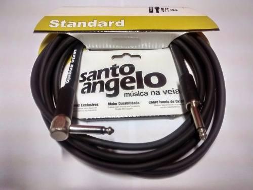 Cabo Santo Angelo Standart 3.05 Angulado P10 Guitarra Baixo