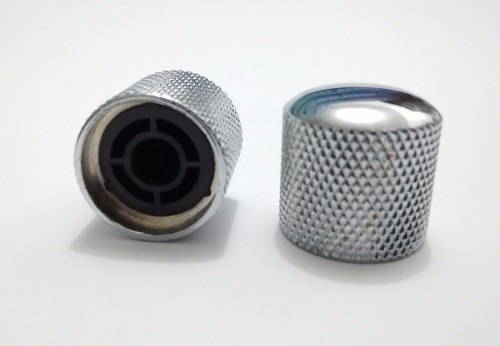 Knob Cromado De Metal C/ 2 Unida - Pressão- Phx
