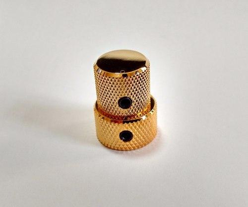 Kit C/ 03 - Knob Duplo - Vk15t - Vk18t - Dourado - Gotoh