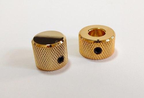 Knob Duplo Gotoh Vk15t Vk18t - Dourado - 01 Unidade