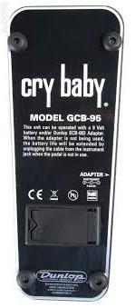 Pedal Cry Baby Dunlop Gcb95 - Wah Wah