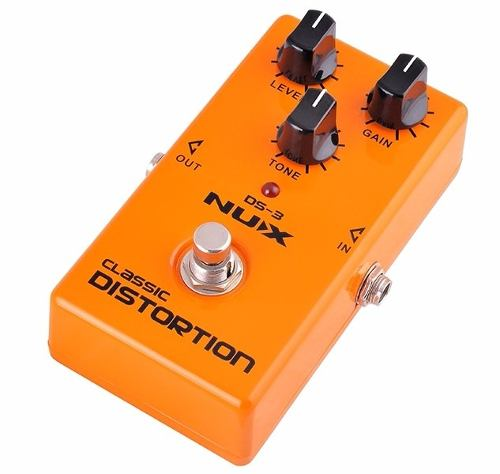 Pedal Nux Distortion Analog Ds-3