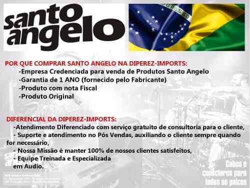 Cabo Santo Angelo Standart 4.57 Cm P10 L Guitarra Baixo Violão