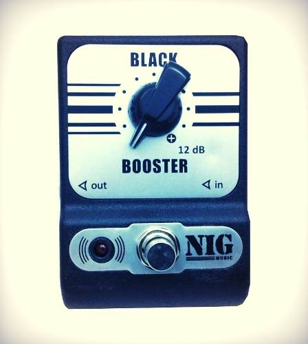 Pedal Pocket Nig - Black - Booster Pbb