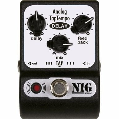 Pedal Nig - Analog Tap Tempo Delay - Pocket - Padt