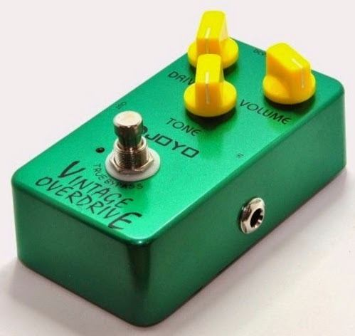 Pedal Joyo - Vintage Overdrive Jf-01 - Tube Screamer