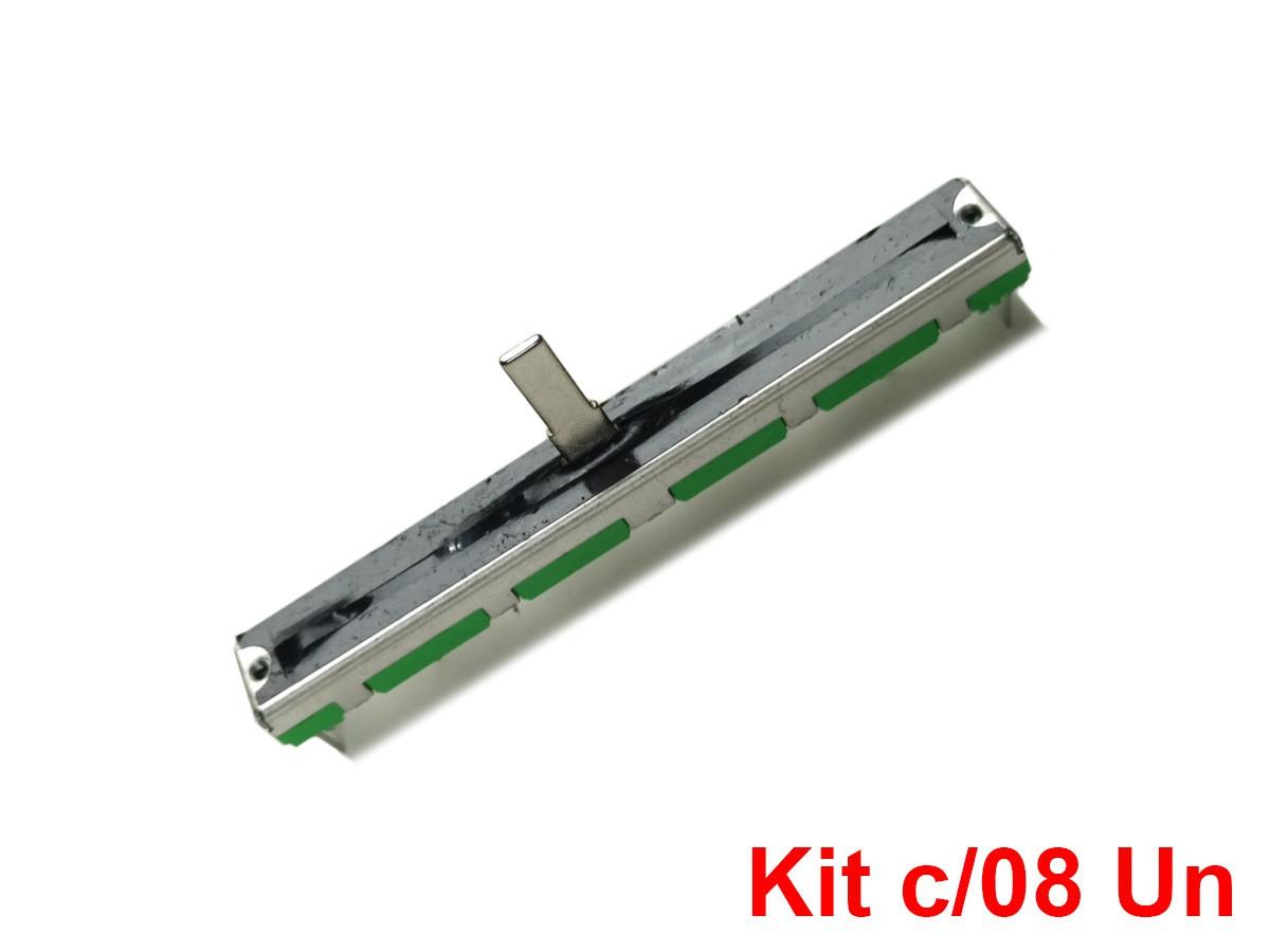 8 X Fader Potenciometro Deslizante Behringer - 10k X2 - Kit