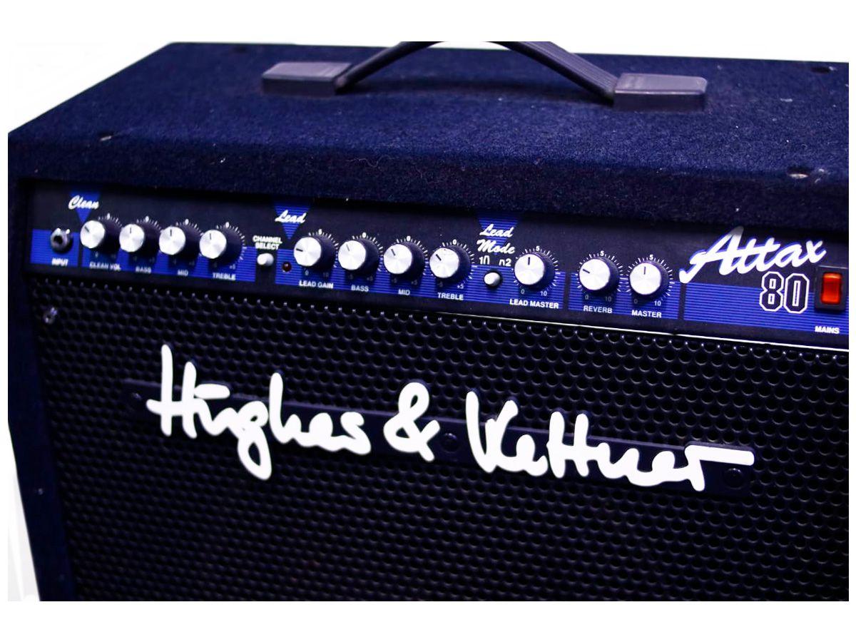 Amplificador Hughes & Kettner attax 80 - Usado