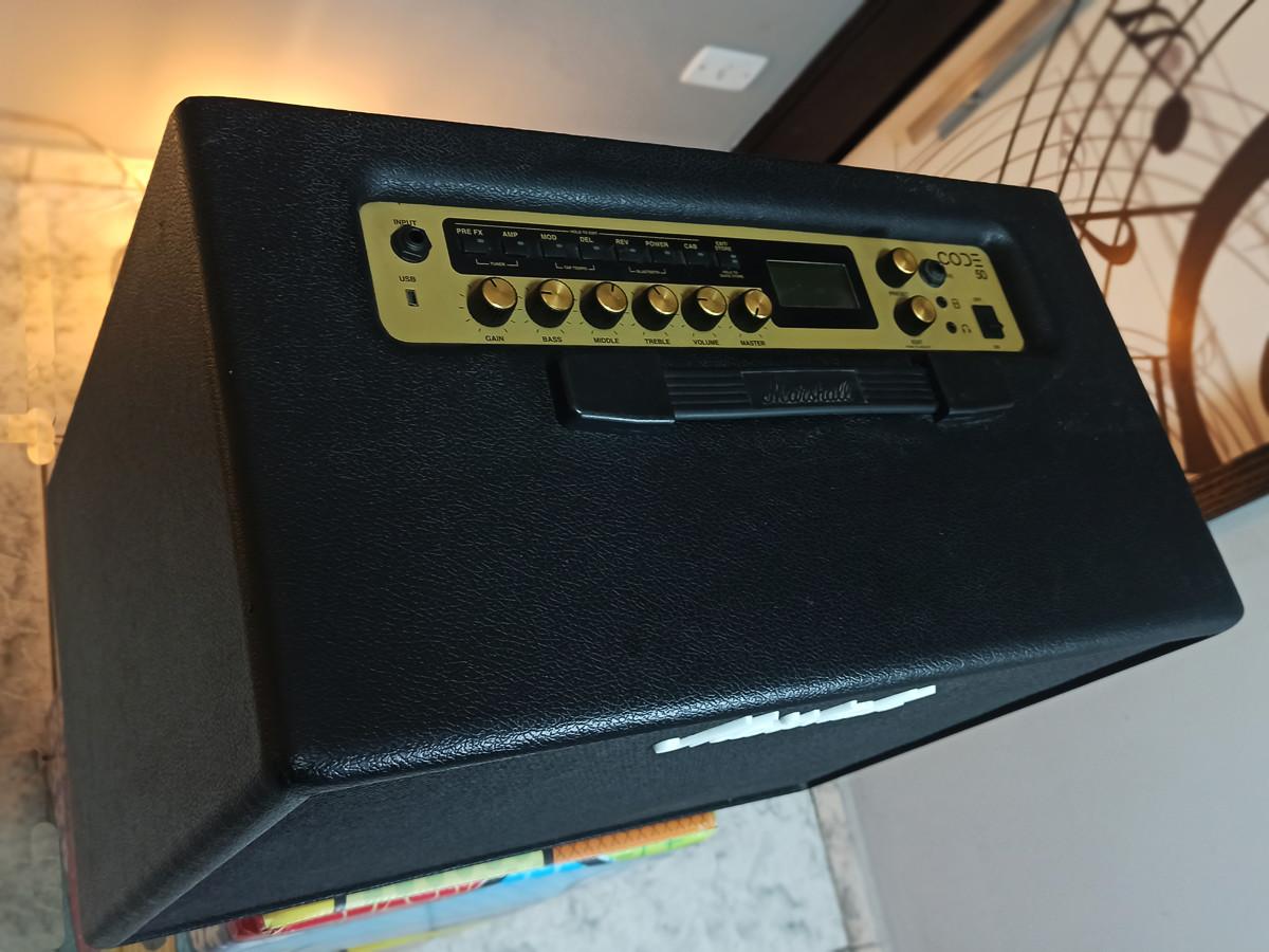Amplificador Marshall Code 50 Usado