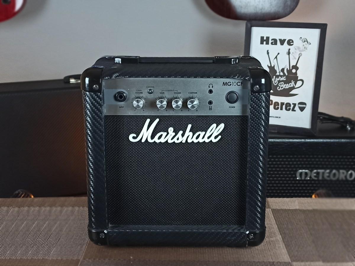 Amplificador Marshall para Guitarra - MG10CF - Usado