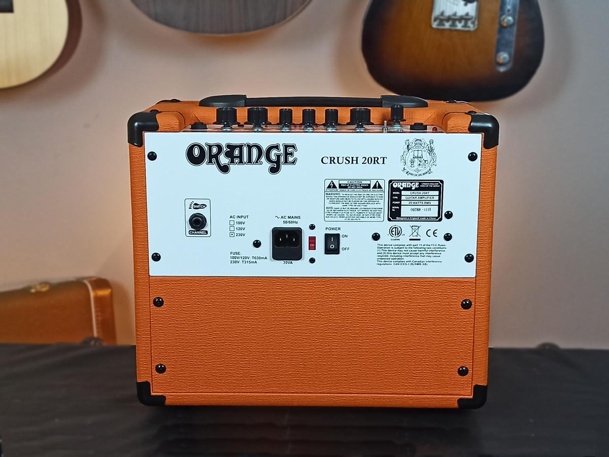 Amplificador Orange Crush 20RT 20w USADO